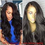 Fureya Hair 8A Unprocessed Peruvian Vogue Free Part Loose Deep Glueless Full Lace Human Hair Wigs