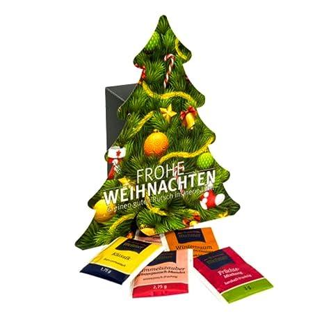 Weihnachtskalender Tee.Tee Adventskalender Weihnachtskalender Von Meßmer Als Weihnachtsbaum 53 Gramm