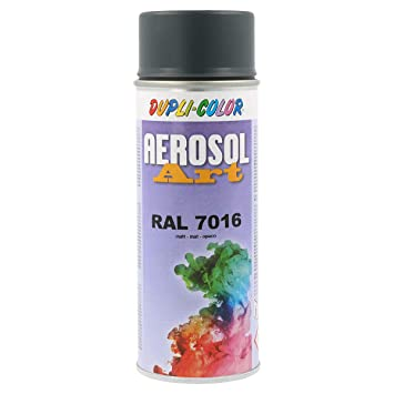Dupli Color 741517 Aerosol Art Spray 400ml Anthrazit Matt Ral 7016