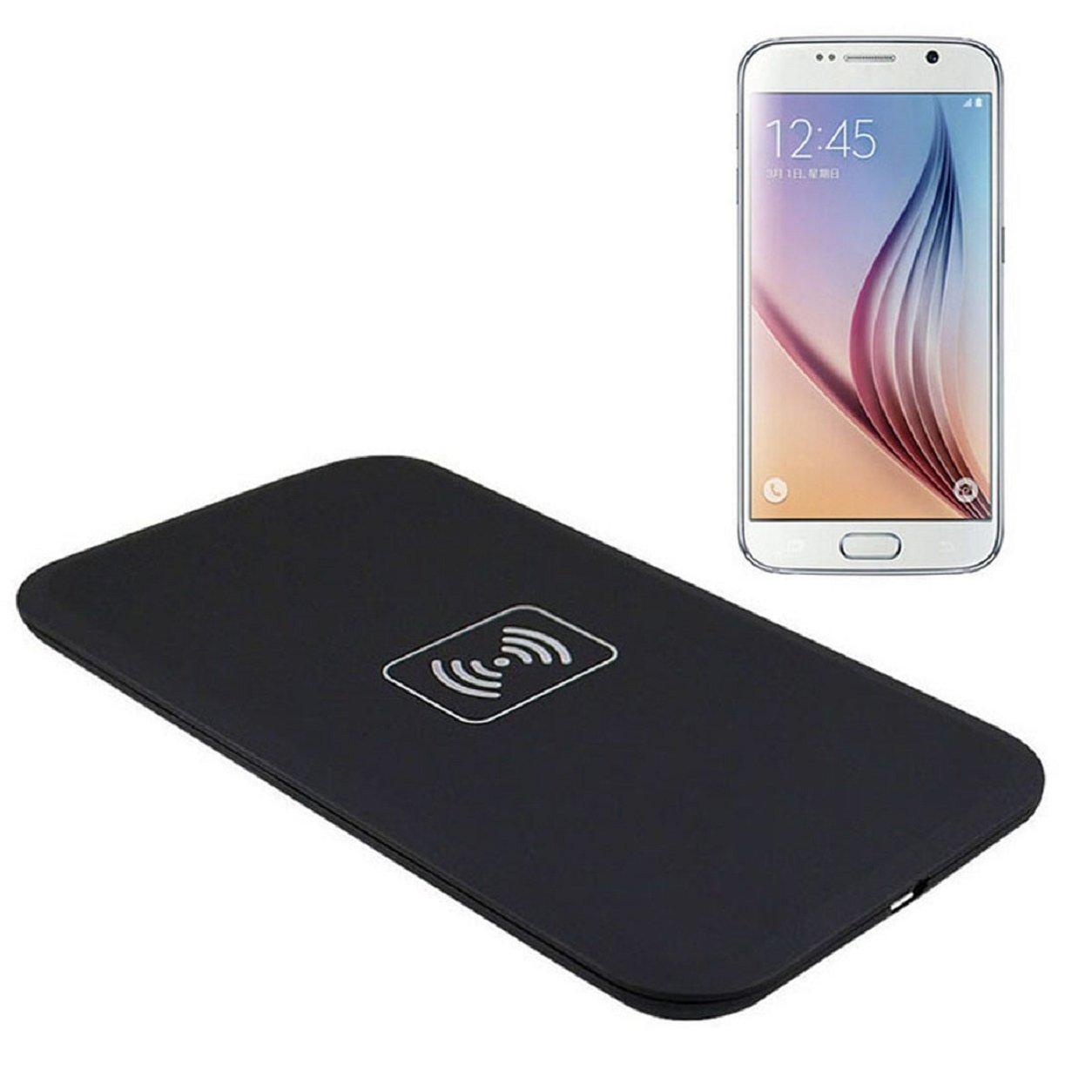 BlueBeach® Qi Cargador Inalámbrico Ultra Delgada de Carga Pad para Samsung S8 / S8+ / Note 8 / Nokia 8 / Apple iPhone 8 / 8 Plus / iPhone X Todo Qi y Otros ...