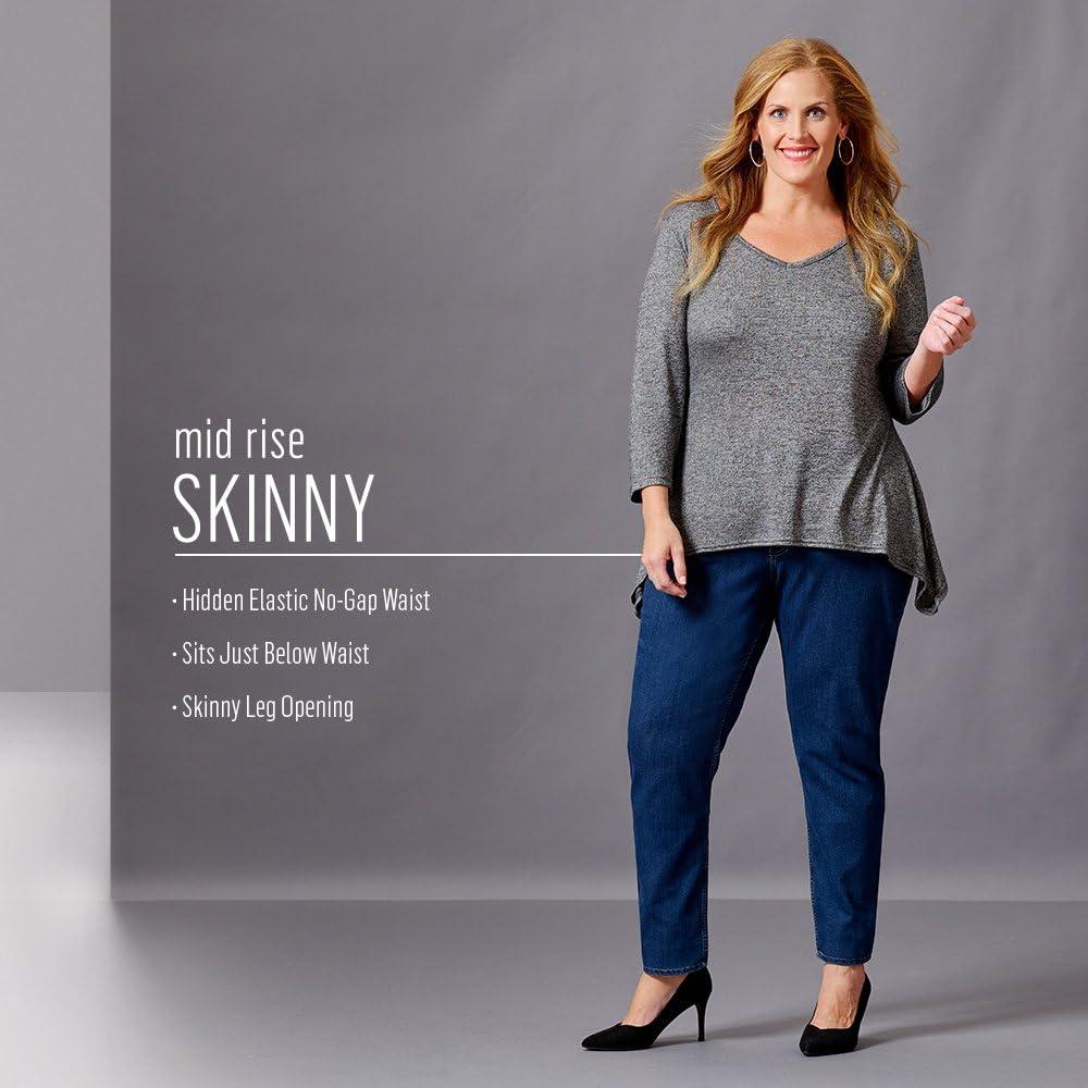 Riders by Lee Low Super Skinny Blue Stretch Denim Jeans Women/'s Size 7 W26