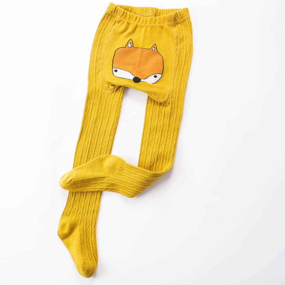 Muium Toddler Kids Baby Girls Boys Cartoon Stockings Panty-hose Socks Anti-Slip Slipper Winter Warm Step Socks for 0-4 Years Old