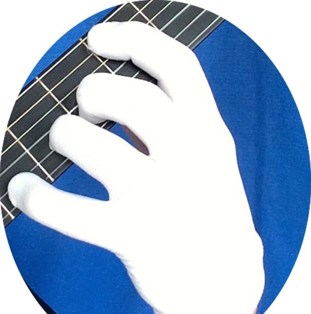 Fingerless gloves for guitarists - Guitar Glove Bass Glove Musician S Practice Glove S 2 Pack Fits Either Hand Color White Amazon Co Uk Musical Instruments