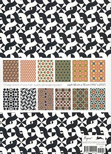 Italian Tile Mosaics Gift Creative Paper Book Vol 33 Gift