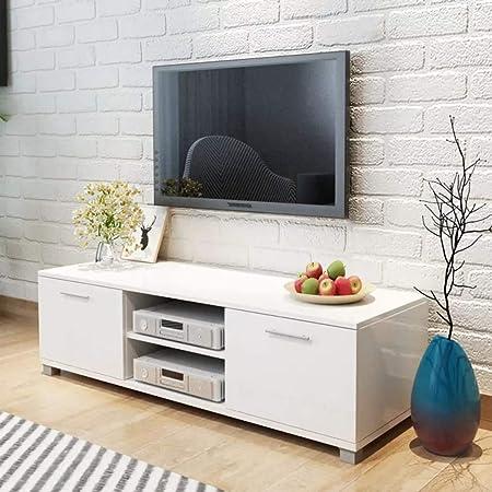 Wakects Mueble de televisión, Mesa Baja para Televisor, Receptor ...
