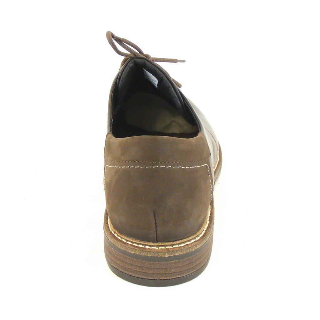 Naot Combi Herren Schuhe Schnürhalbschuhe Chief Leder Dunkelbraun Combi Naot 11797 Fußbett, Größe:45 - d93cb6