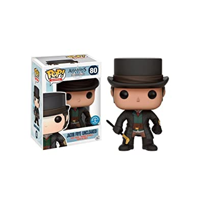 Funko - Figurine Assassins Creed Syndicate - Jacob Frye Top Hat Exclu Pop 10: Toys & Games