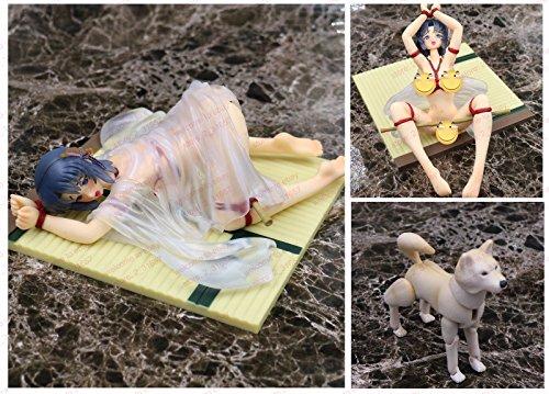 Hentai-anime-bound-kimono-girl--dog-action-figure-white-nobox