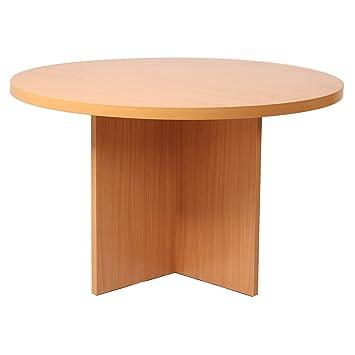 Deluxe Professional Sitzung Tisch Rund 40 Mm Mfc Top Buche
