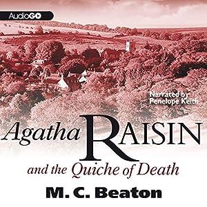 Agatha Raisin and the Quiche of Death Audiobook