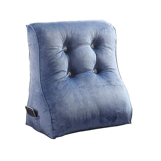 ZH - Cojín de Lectura para sofá o Cama (extraíble), Blue1 ...