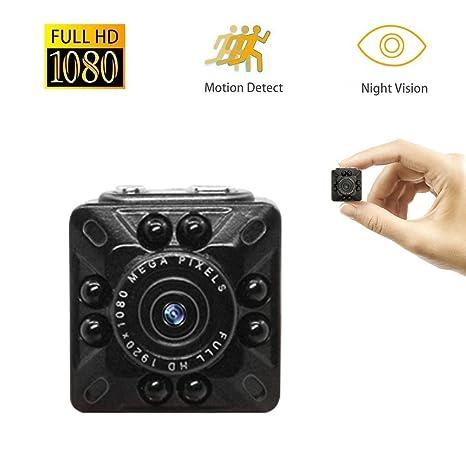Anviker Mini Cámara Espía,Cámara HD 1080p y 720P HD,Cámara de Vídeo Pequeña
