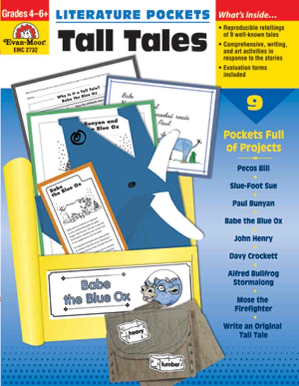 Literature Pockets Tall Tales, Grades 4-6+