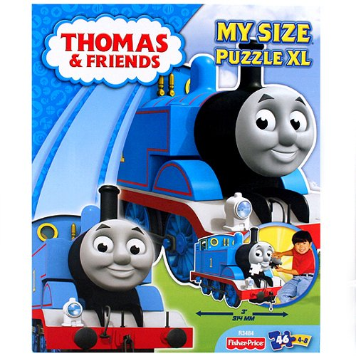 Engines Thomas Floor Puzzle - Thomas the Tank Engine My Size Puzzle XL [46 Pieces]