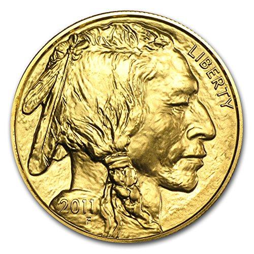 2011 1 oz Gold Buffalo BU 1 OZ Brilliant Uncirculated