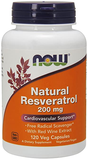 Product thumbnail for NOW Natural Resveratrol