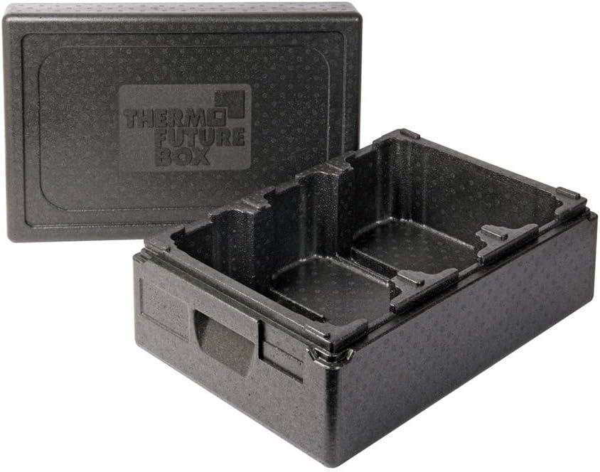 expandiertes Polypropylen Thermo Future Box Thermobox Ice Cream 2 Transportbox Warmhaltebox und Isolierbox mit Deckel,2 x 10 Liter K/ühlbox,Thermobox aus EPP