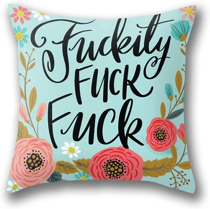 HFYZT Flower Throw Pillow Cushion Cover