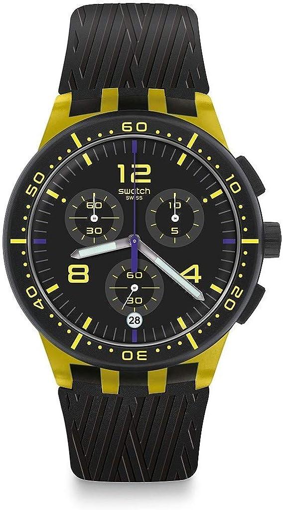 Reloj Swatch Chrono SUSJ403 Yellow Tire