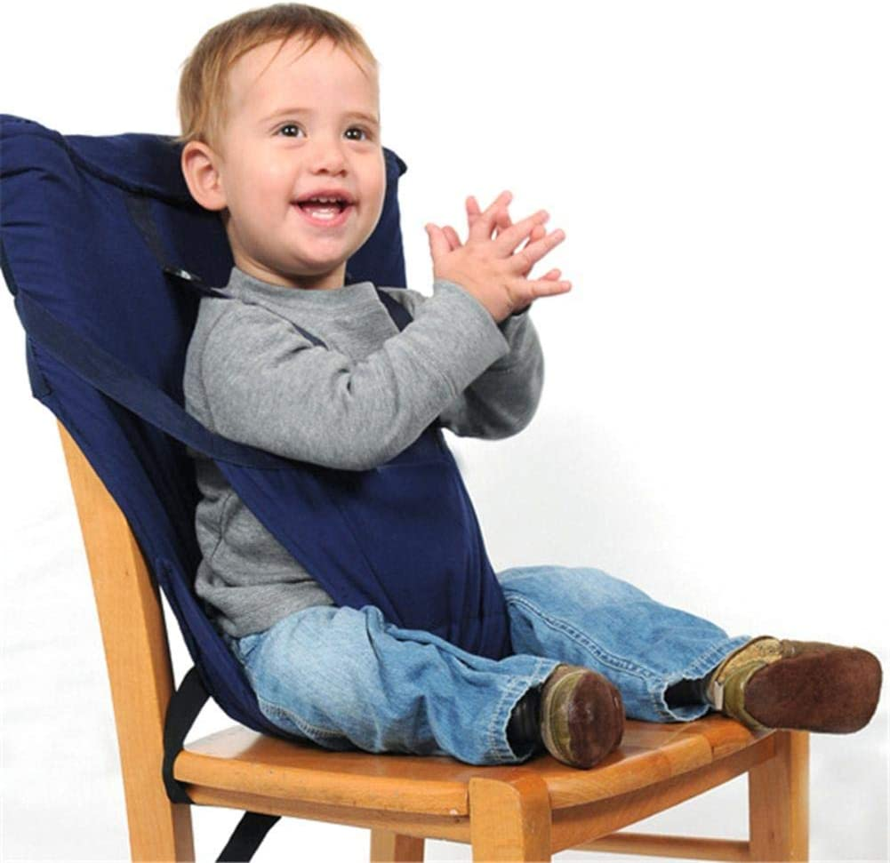 Baby High Chair Harness Feeding Booster Seat Strap Harness Belt Portable Travel Safety High Chair Seat Cover for Baby Kid Toddler