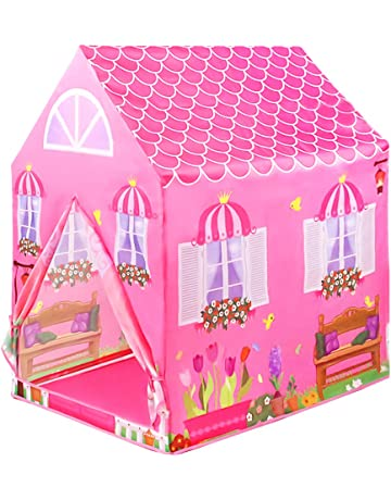 L.Y Casitas para Niños Tienda de Campaña Castillo Princesas Playa Carpa Jardin Plegable Regalos Cumpleaños Niños