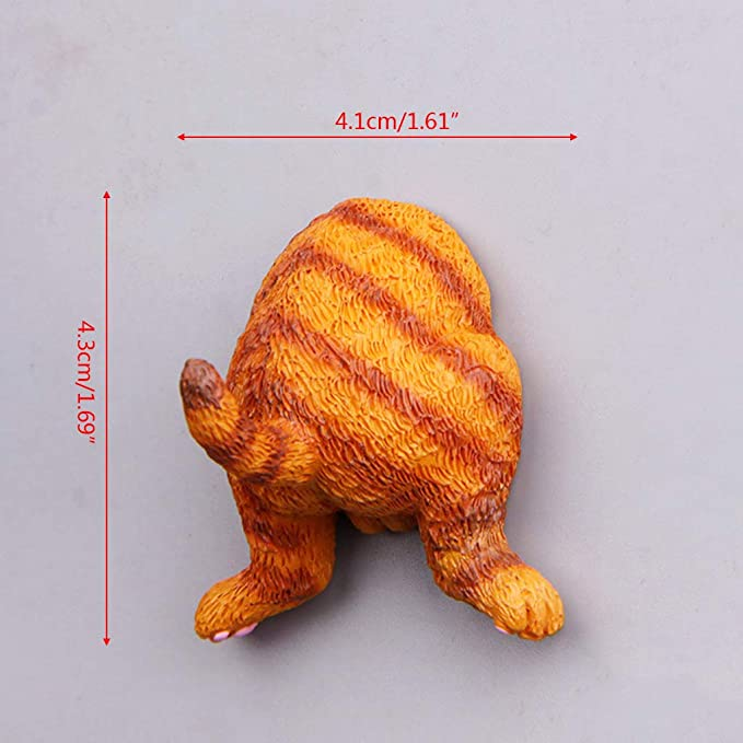 Imán para Nevera con diseño de Gato de la Marca Llwei: Amazon.es ...