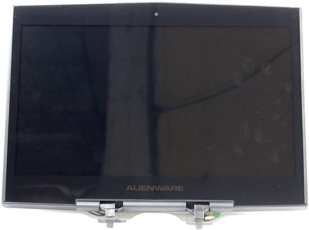 "Dell Alienware M14x M14xR2 14"" 1600x900 Resolution Black Laptop LCD Screen Assembly THP6D 0THP6D CN-0THP6D 36NXH"