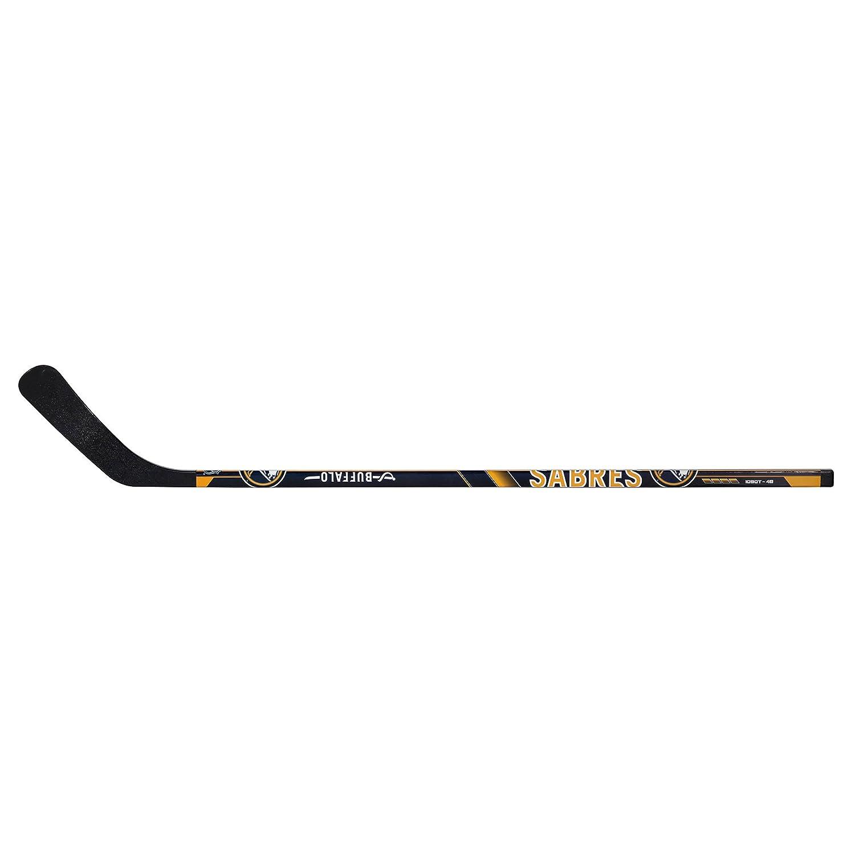 Franklin Sports NHL Buffalo Sabres Team Vinyl Street Hockey Stick, Right Hand, 48-Inch 74001F22