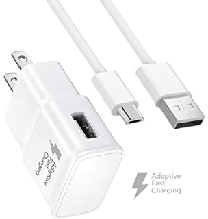 Amazon.com: USB Charger Data Cable Compatible Samsung Galaxy ...