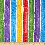 The Very Hungry Caterpillar Giant Stripe Multi Fabric By The Yard