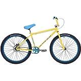 "Eastern Bikes Growler 26"" Cruiser Bike, Yellow, 14.5""/One Size"