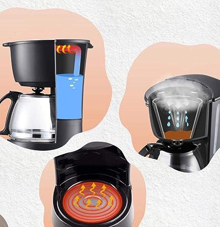 Cafetera automática, goteo, cafetera, vidrio, hogar, marina, 110V / 220V, 220V: Amazon.es: Hogar