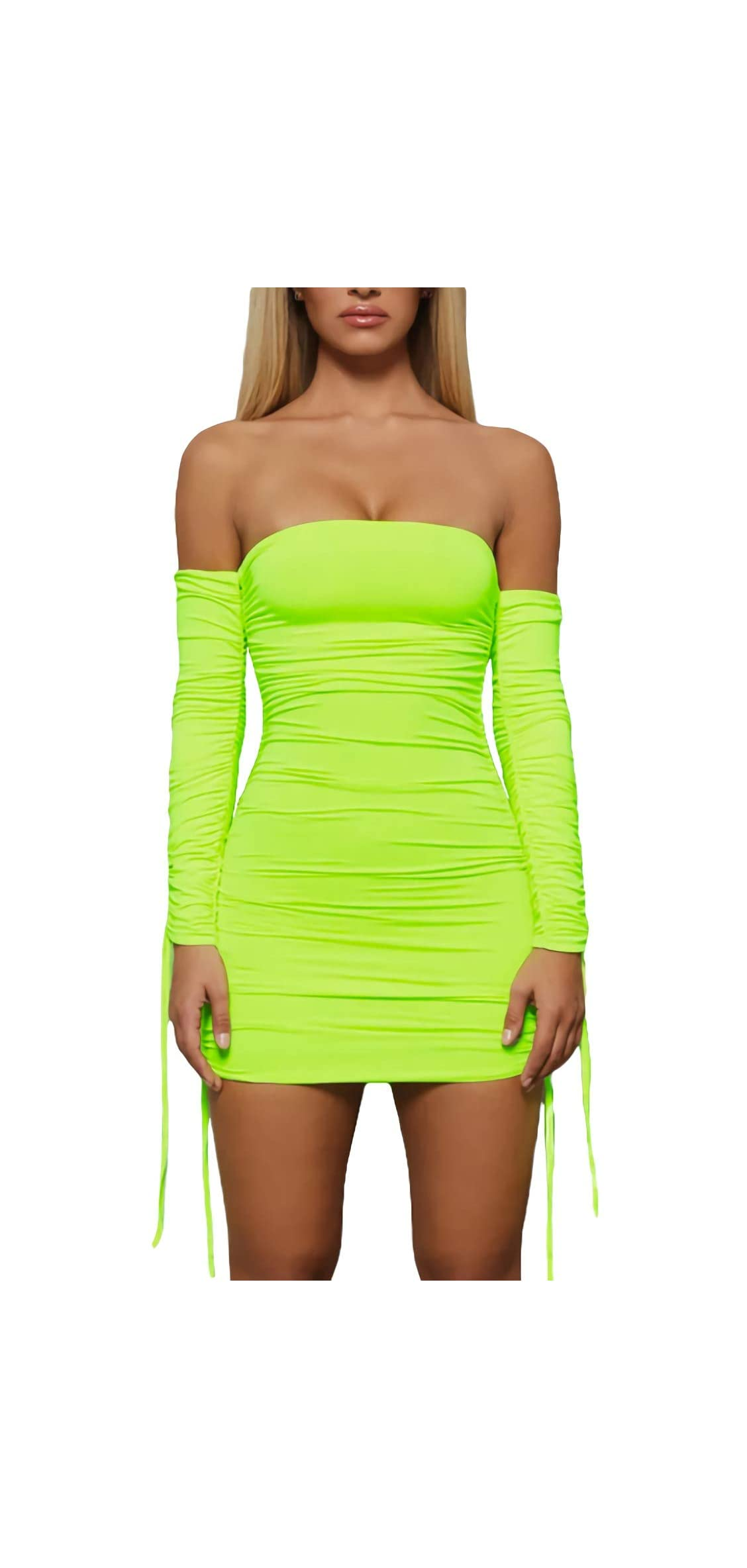 Women's Sexy Front Drawstring Spaghetti Strap Backless