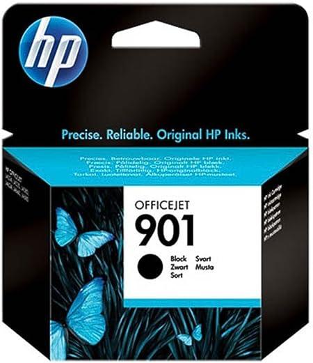 Hp Hewlett Packard Officejet J 4600 Series 901 Cc 653 Ae Original Druckerpatrone Schwarz 200 Seiten 4ml Bürobedarf Schreibwaren
