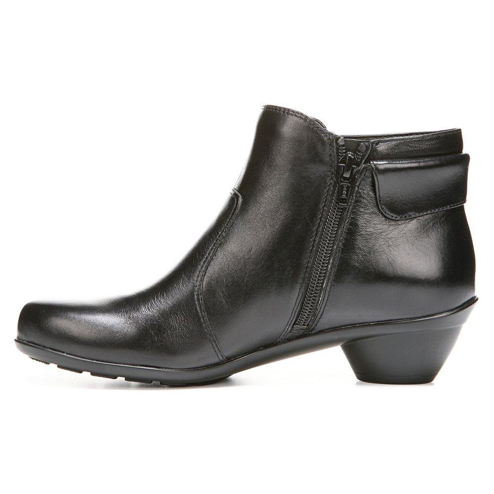 Naturalizer Women's Haley Boot B00UVA1VWA 6.5 N US|Black Leather