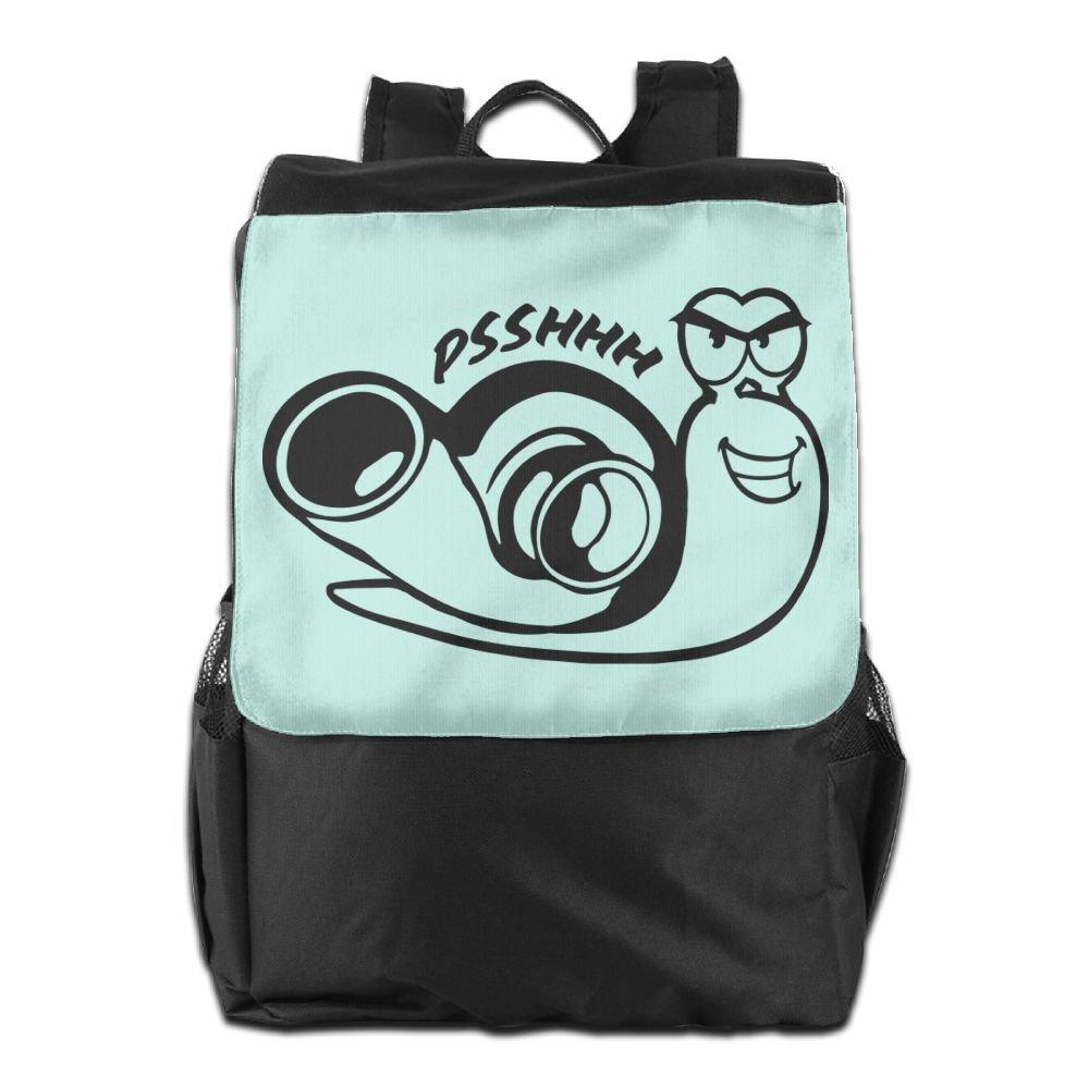 durable modeling Believe Ddspp Evil Snail Outdoor Backpack Rucksack Laptop Bag
