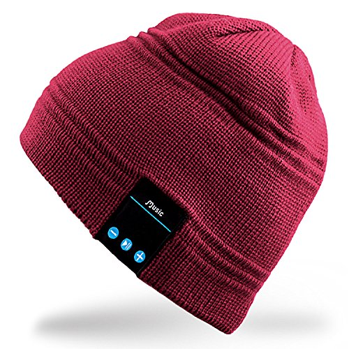 Mydeal Men Bluetooth Audio Beanie Hat Cap with Stereo Speaker Headphones