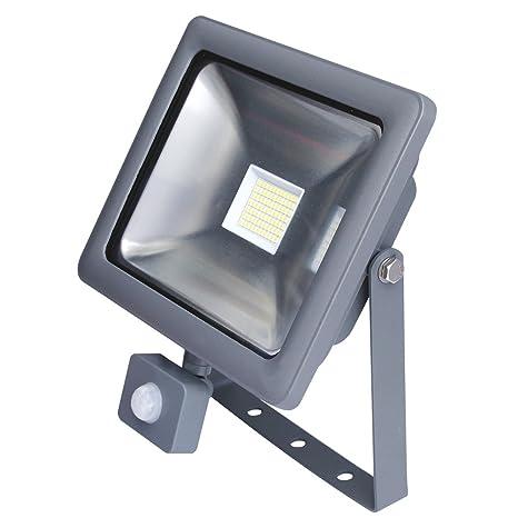 Foco LED con detector de movimiento 6000 K fría 120 ° – directamente a 230 V