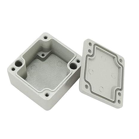 ZealMax Cajas de conexiones de aluminio de 2.5
