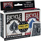 Bicycle Standard Jumbo Playing Cards - Poker, Rummy, Euchre, Pinochle, Card Games