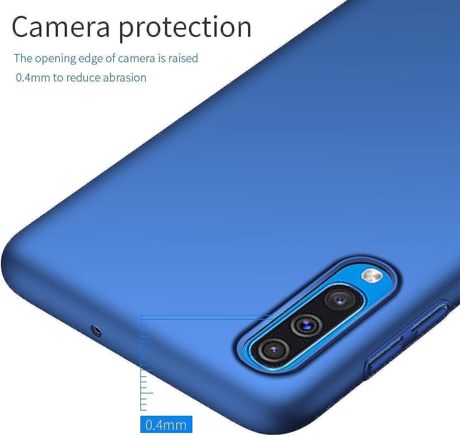 H/ülle Kompatibel mit Samsung Galaxy A50 H/ülle Harte Schale Schutzh/ülle Ultrad/ünn Anti-Fall Handyh/ülle rutschfest PC Plastic Case Interessant kratzfesten Bunt Cover F/ür Samsung Galaxy A50