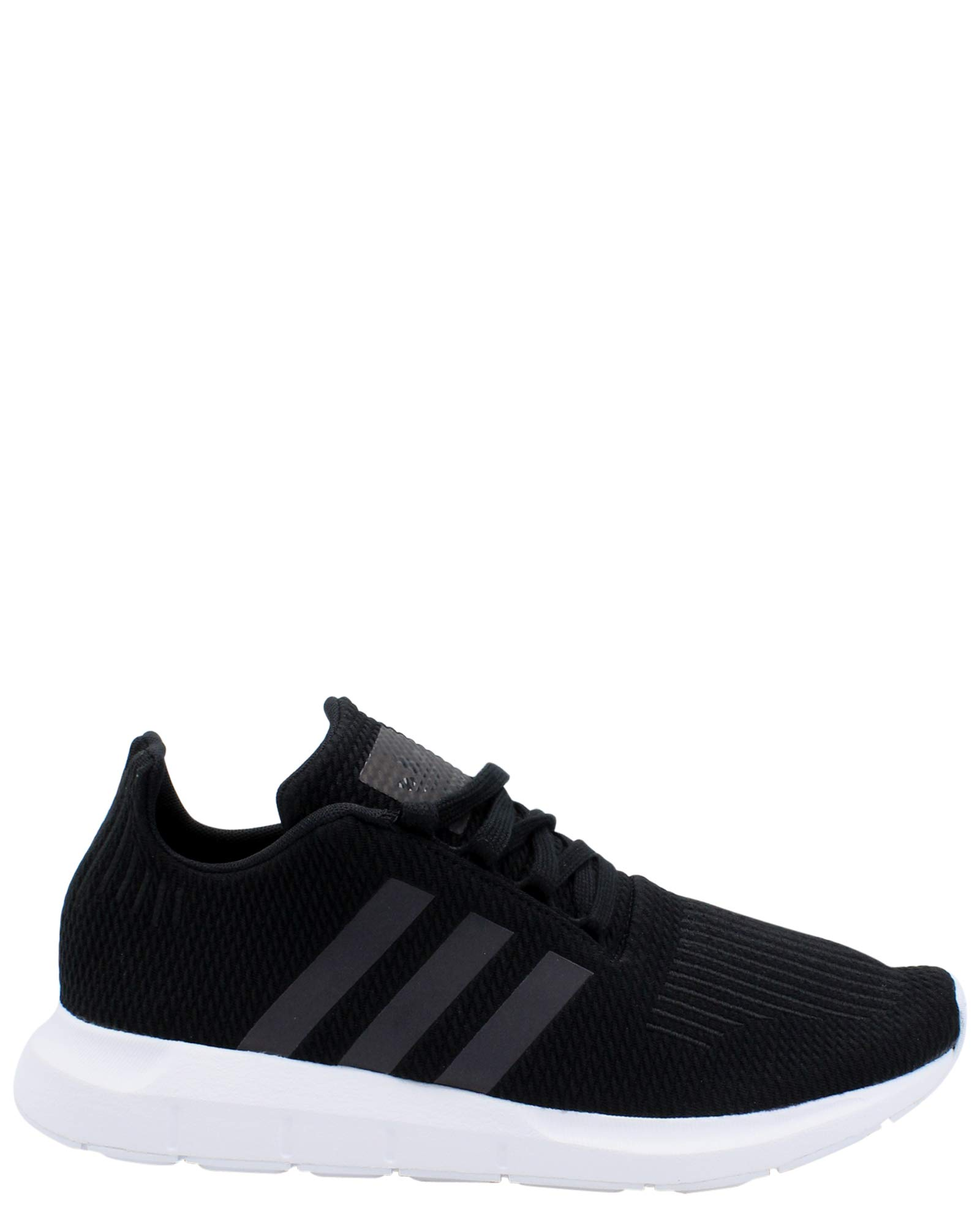 super popular nice shoes big sale adidas Originals Unisex Swift Running Shoe, Black/Weiss-Schwarz/White, 4 M  US Big Kid