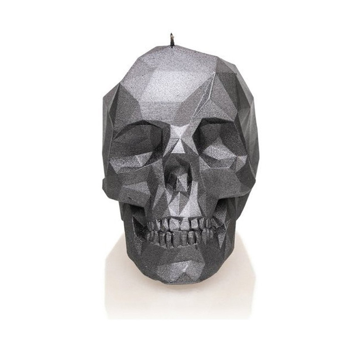Candellana Candles Candellana- Skull Poly Candle-Steel,
