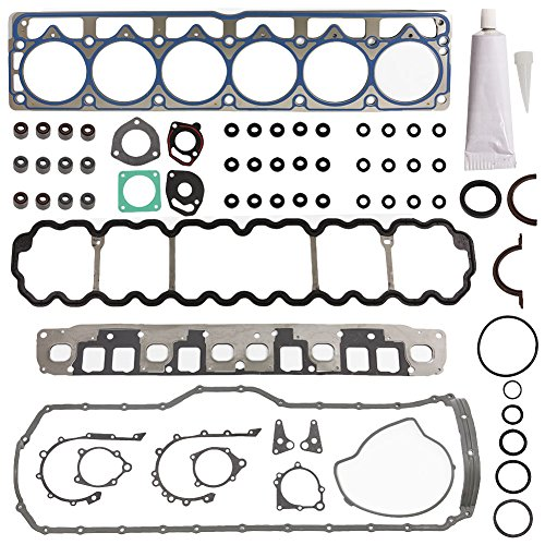 Head Gasket Set Kit Engine Cylinder Fit HS9076PT-4 CS8169-4 for Jeep Cherokee Grand TJ Wrangler 1999 2000 2001 2002 2003 L6 4.0 by - Kit Engine Jeep