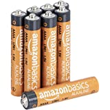 AmazonBasics AAAA 1.5 Volt Everyday Alkaline Batteries - Pack of 8