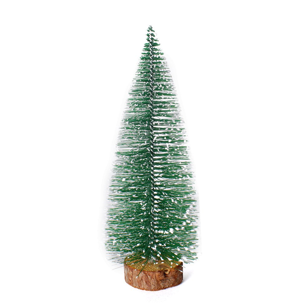 Meiyiu Mini Christmas Xmas Tree Festival Hotel Home Office Party Ornaments Decoration Gift 25cm