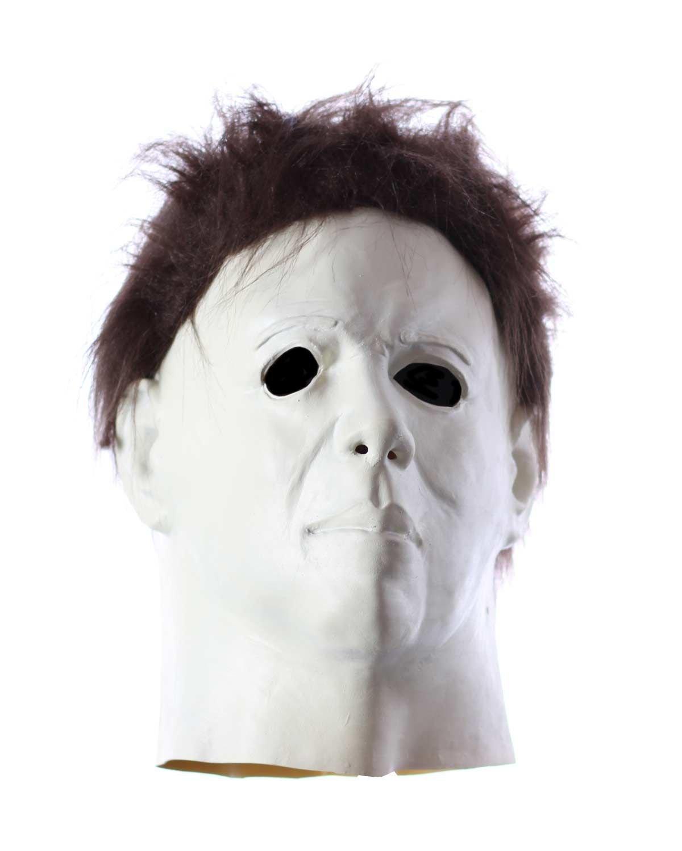 Máscara de látex Michael Myers: Amazon.es: Juguetes y juegos