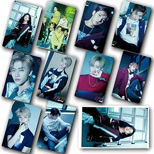 (Nuofeng - Kpop NCT EMPATHY Lomo Cards NCT127 NCT Dream Photocard Sticker Cards Set for NCT Fans(F-10pcs-6))
