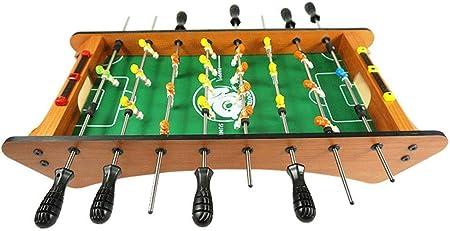 LMCLJJ Mesa de futbolín Mini Juego de Mesa Accesorios de Juego de Billar Tableros de fútbol Juegos de competición Juegos de Deportes Fútbol recreativo: Amazon.es: Hogar