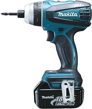 Makita DTP141RMJ atornillador inalámbrico - Destornillador (Ión de litio): Amazon.es: Bricolaje y herramientas